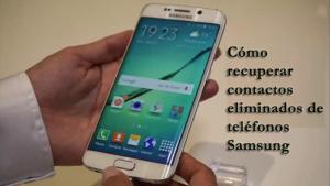 Samsung Contactos desaparecido