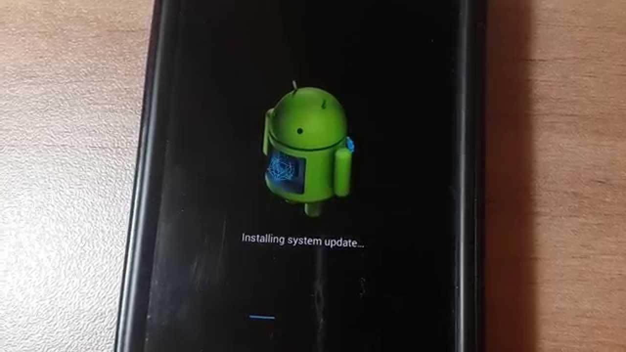 Fijar actualización de Android Error al instalar